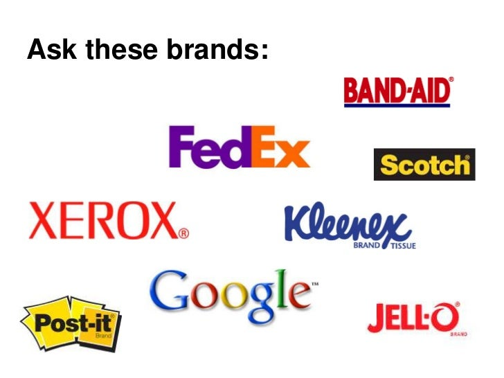 Ask these brands:
