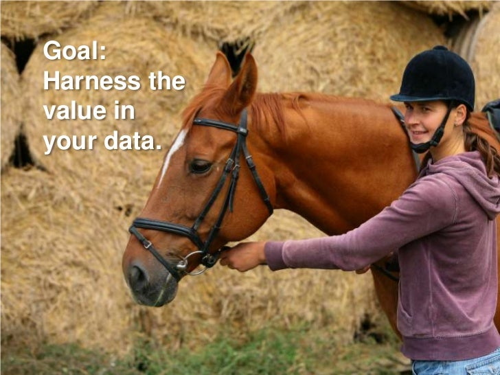 Goal: Harness the value in your data.
