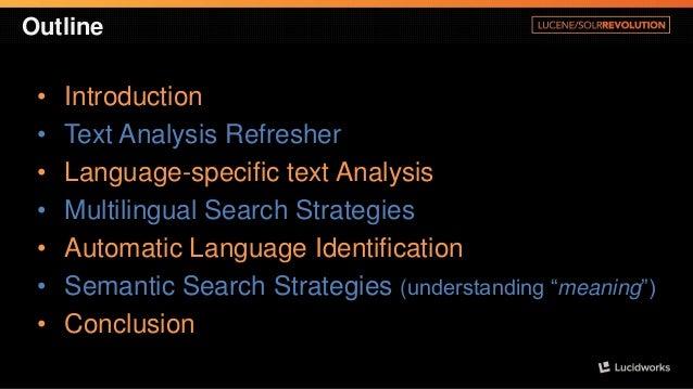 Semantic & Multilingual Strategies in Lucene/Solr Slide 2