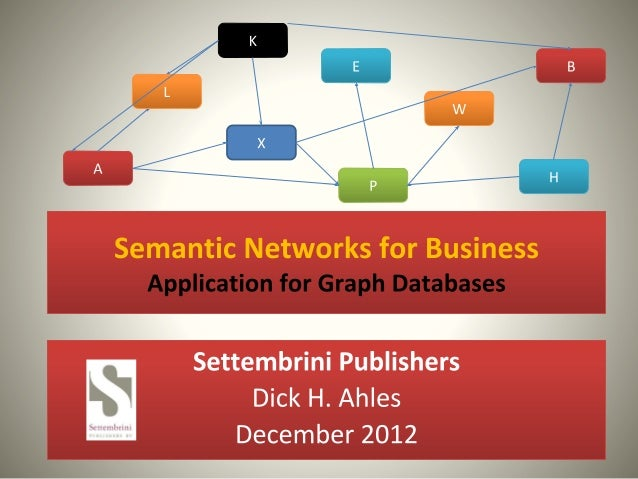 Semantic Networks for business