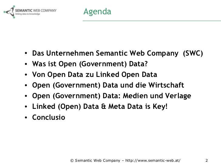 Medien & Verlage im Zusammenspiel mit Open (Government) Data Slide 2