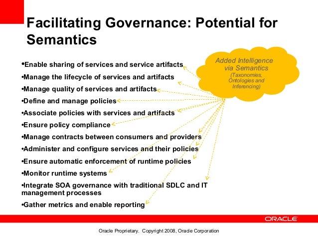 Facilitating Governance: Potential for Semantics                                                                          ...