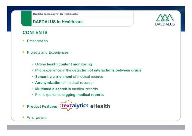 Semantic Technologies for Healthcare Slide 3