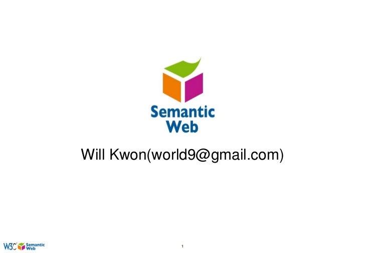 Will Kwon(world9@gmail.com)             1