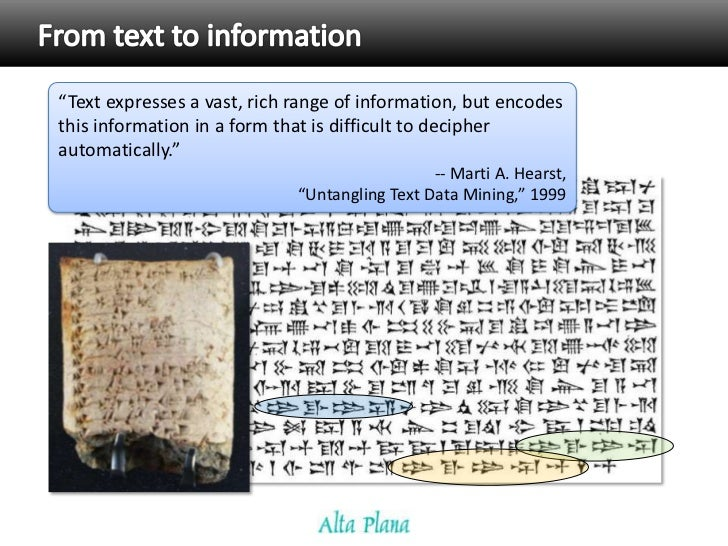 Introduction to Text Mining and Semantics Slide 3