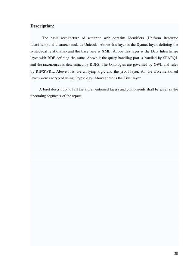 Semantic web Document