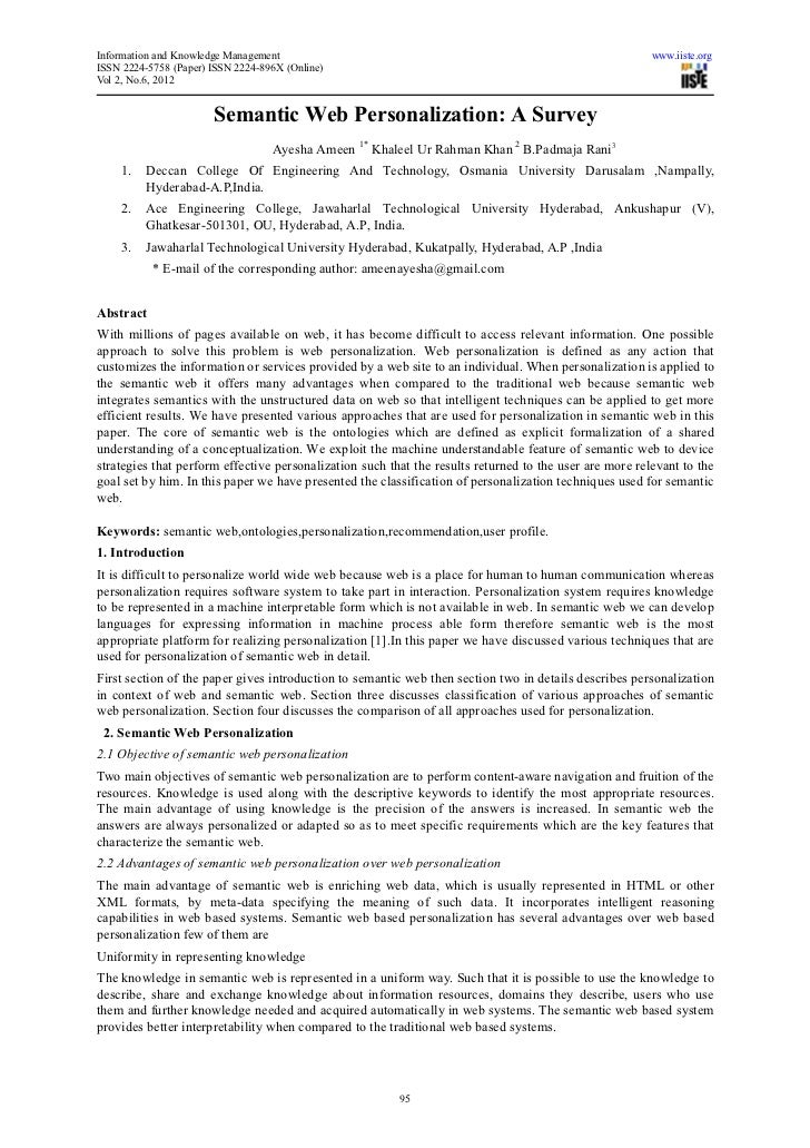 Information and Knowledge Management                                                                     www.iiste.orgISSN...