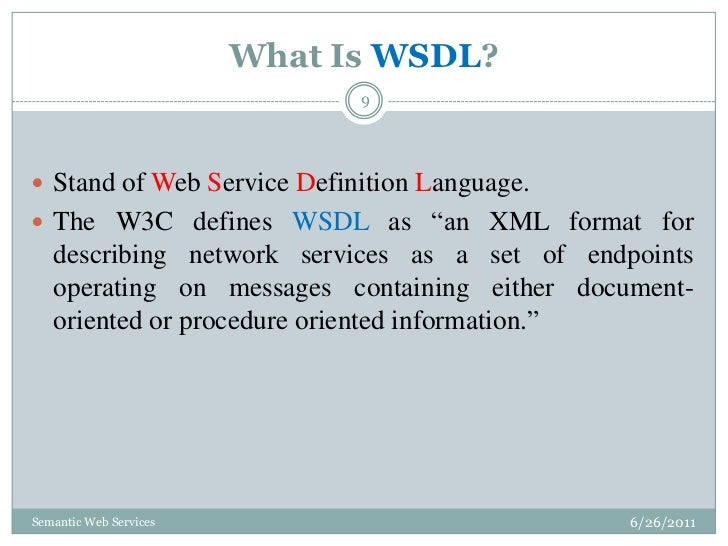 Semantic Web Services Thesis✏️ Houston Texas