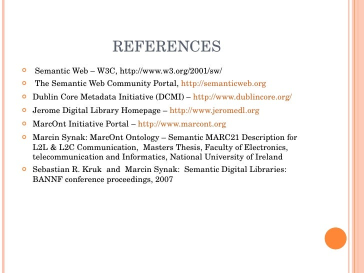 Master thesis ontology
