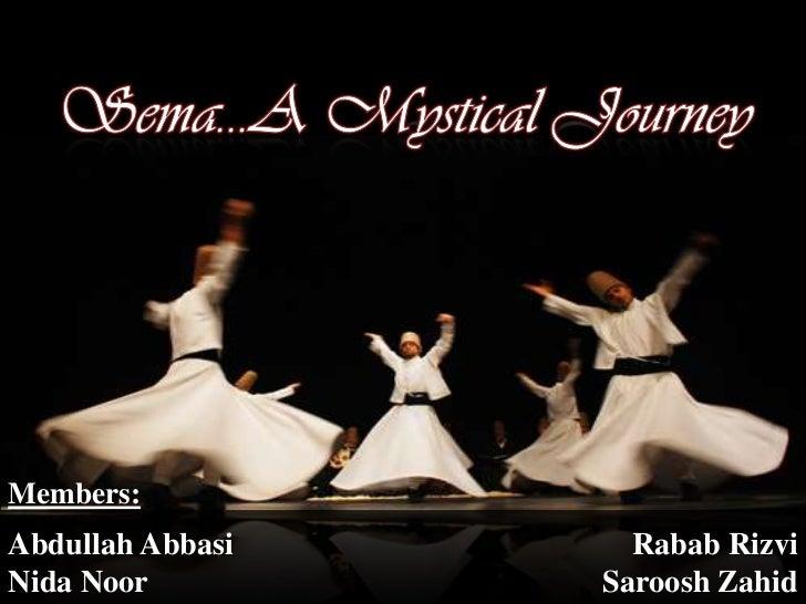Members:Abdullah Abbasi     Rabab RizviNida Noor         Saroosh Zahid