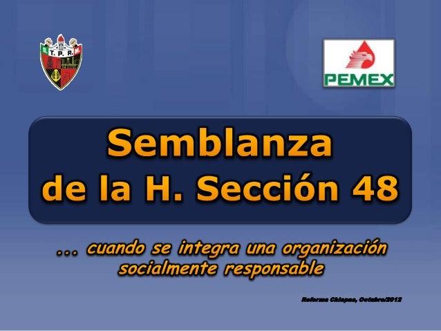 Reforma Chiapas, Octubre/2012