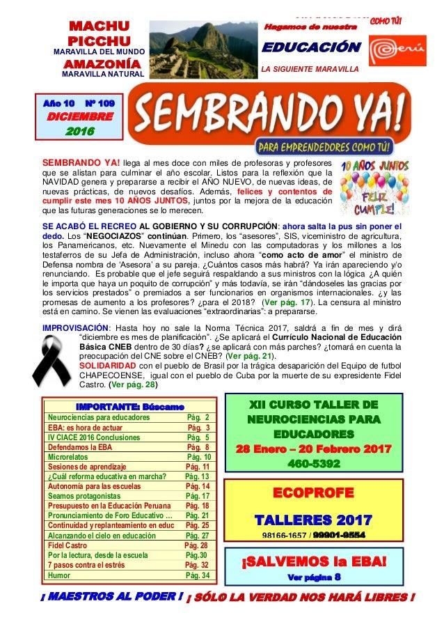 PARA EMPRENDEDORES COMO TÚ! 1 MACHU PICCHU MARAVILLA DEL MUNDO AMAZONÍA MARAVILLA NATURAL Hagamos de nuestra EDUCACIÓN LA ...