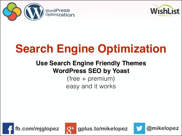 SEMCON 2013 - WordPress Optimization slideshare - 웹