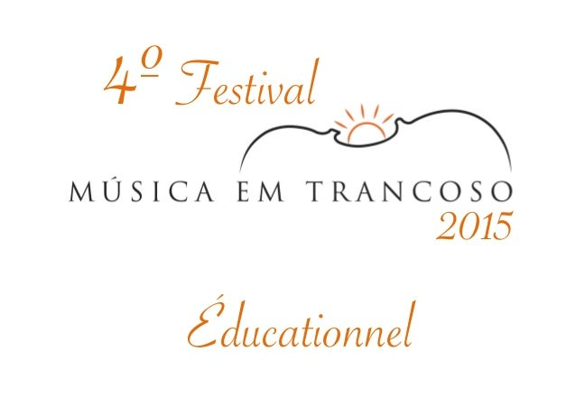 4º Festival  Éducationnel  2015