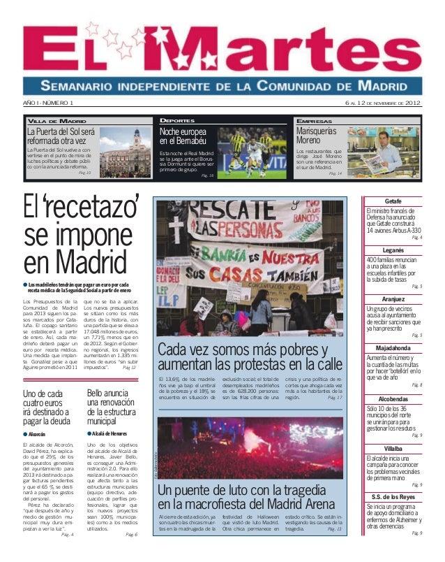 El 13,6% de los madrile- ños vive ya bajo el umbral de la pobreza y el 18% se encuentra en situación de exclusión social; ...