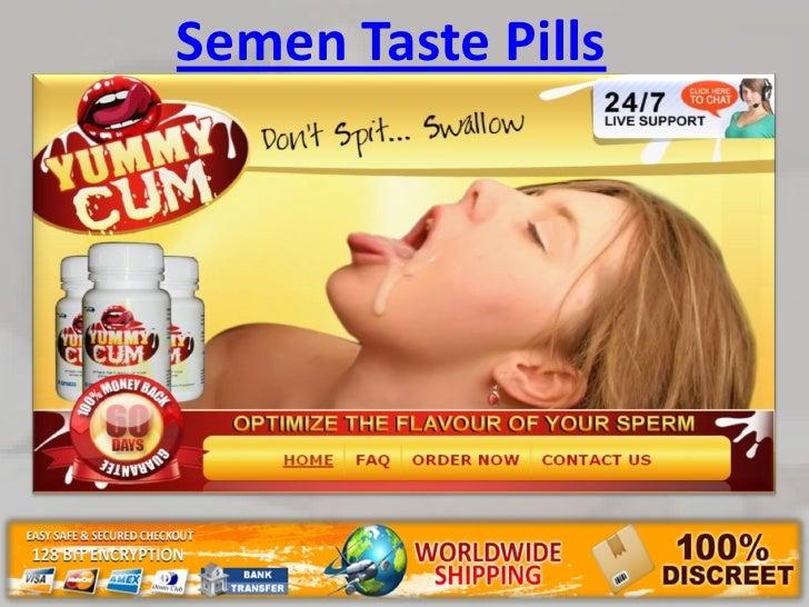 How can i make my sperm taste better
