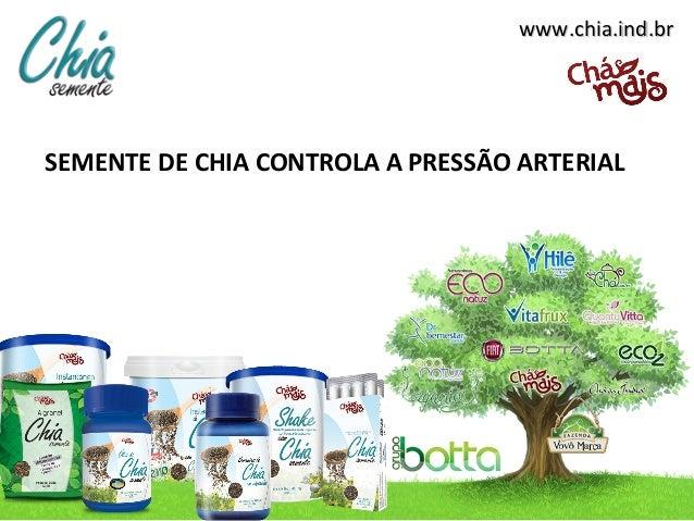 www.chia.ind.brwww.chia.ind.br SEMENTE DE CHIA CONTROLA A PRESSÃO ARTERIAL