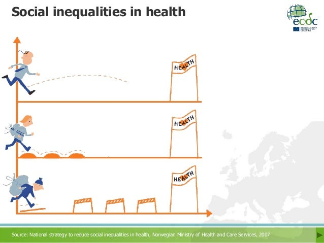 inequalities in health treatment and the national health service organization