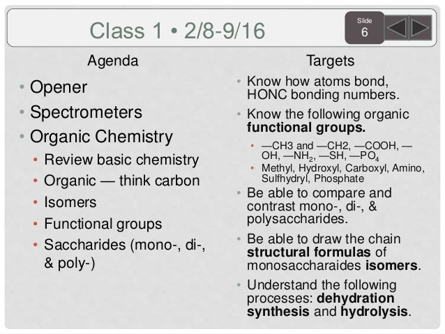 Biology Semester 2 2016 Daily Agenda and Targets
