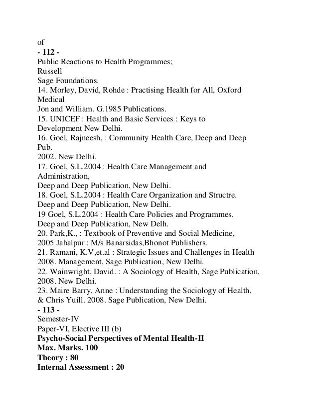 - 115 -13. Paul, Benjamin, D.,1985 : Health Culture and Community, CaseStudiesofPublic Reactions to Health Programmes;Russ...