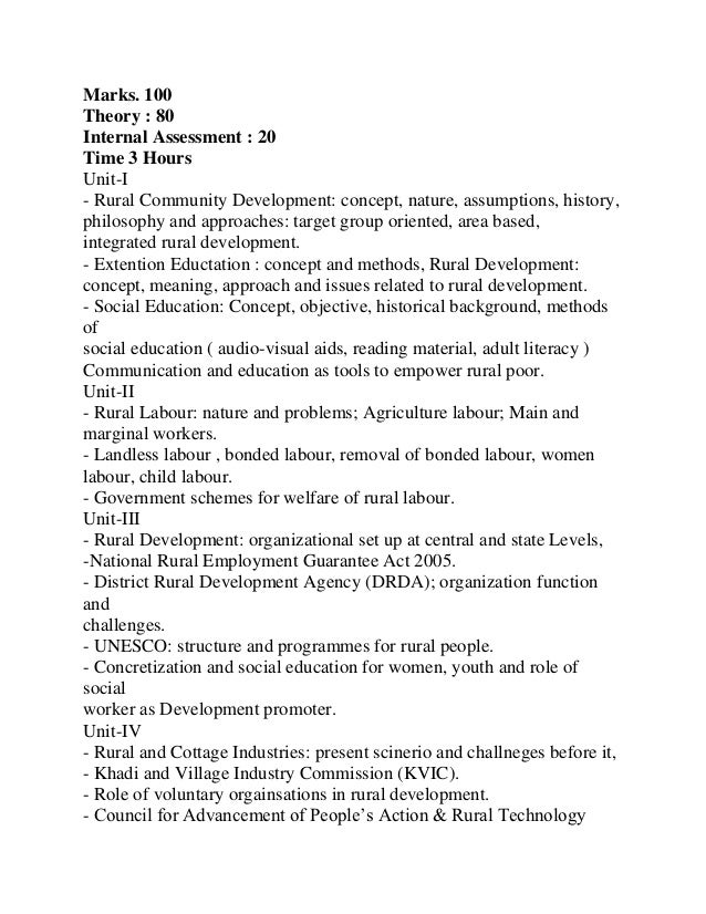 Dingwaney, M.1985 : Madras: Sangam Books Pvt. Ltd.19. Misara, R.P 1985 : Rural Development (Vol.1to 5) ConceptPublishingCo...