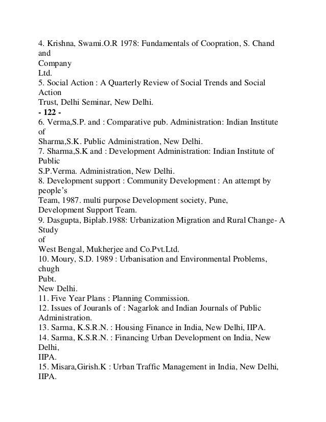 Hirschel J David. 1988. : New Delhi8. Conklin, John E. 1981. : Criminology, MacMillan Publishing Co .9. Chakrabarti, Nirma...