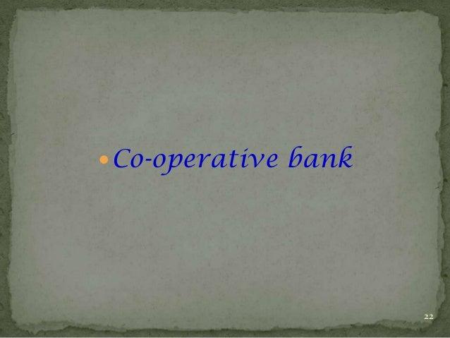  Co-operative bank  22