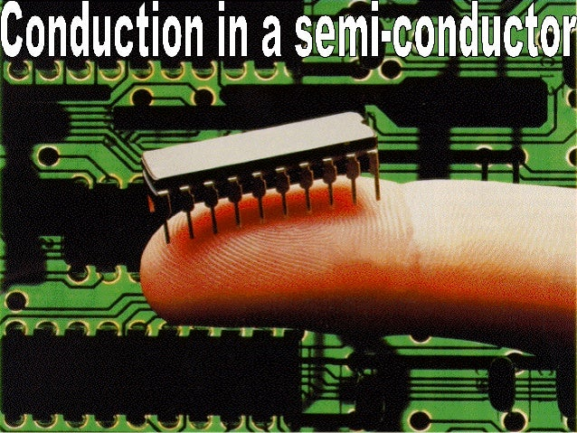 Warming semi-conductors • Many semiconductors suffer from thermal runaway. As the temperature rises, so more and more char...