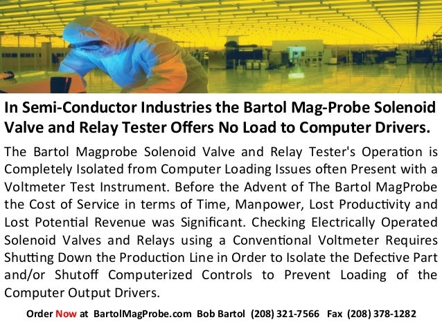 The   Bartol   Magprobe   Solenoid   Valve   and   Relay   Tester's   Opera:on   is   Completely  Is...