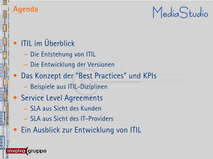 IT-Service Management nach ITIL Slide 3