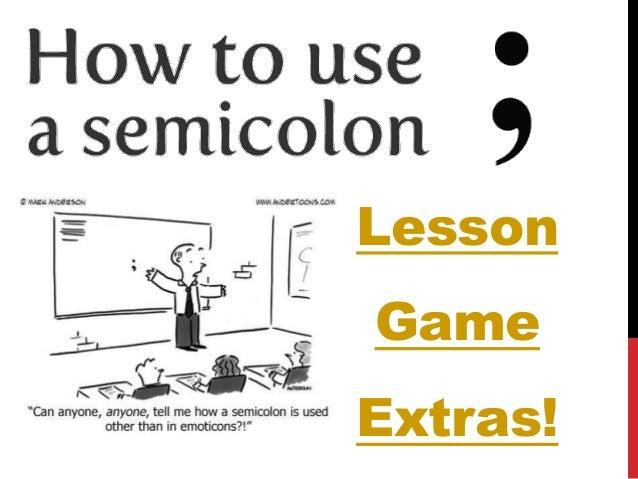 Semicolon Game