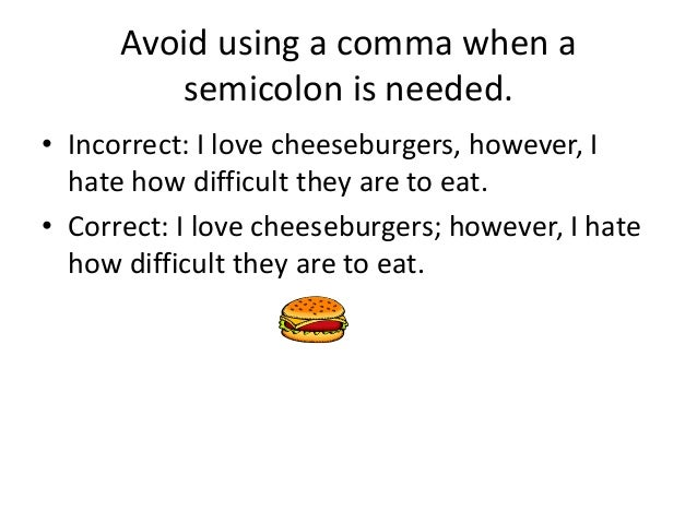 2.3 The semicolon | The Learning Centre – Online Programs