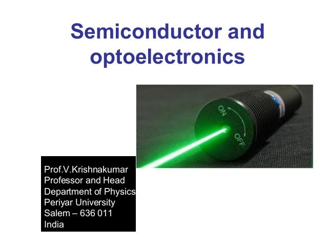 Semiconductor optoelectronic materials