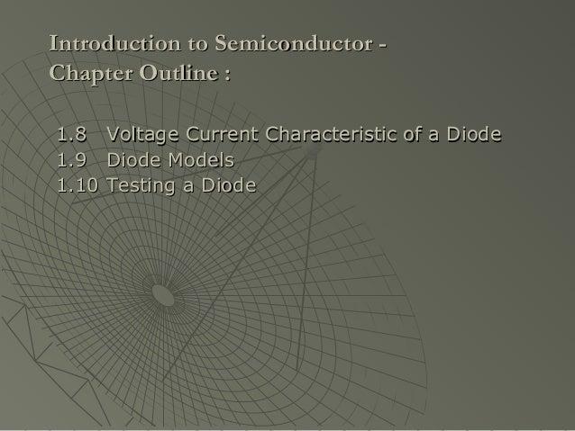 Semiconductor Basics