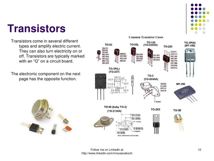Beautiful Electronic Component Function Model - Electrical Circuit ...
