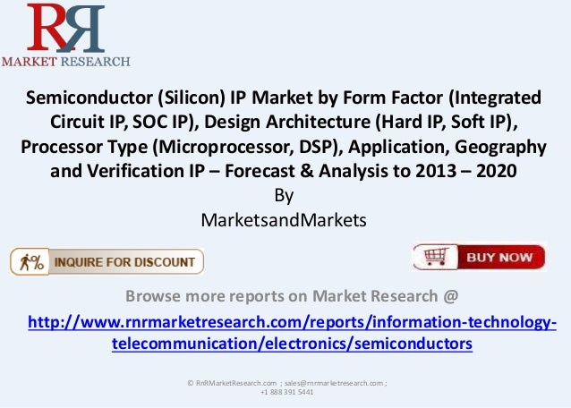 Semiconductor (Silicon) IP Market by Form Factor (Integrated Circuit IP, SOC IP), Design Architecture (Hard IP, Soft IP), ...