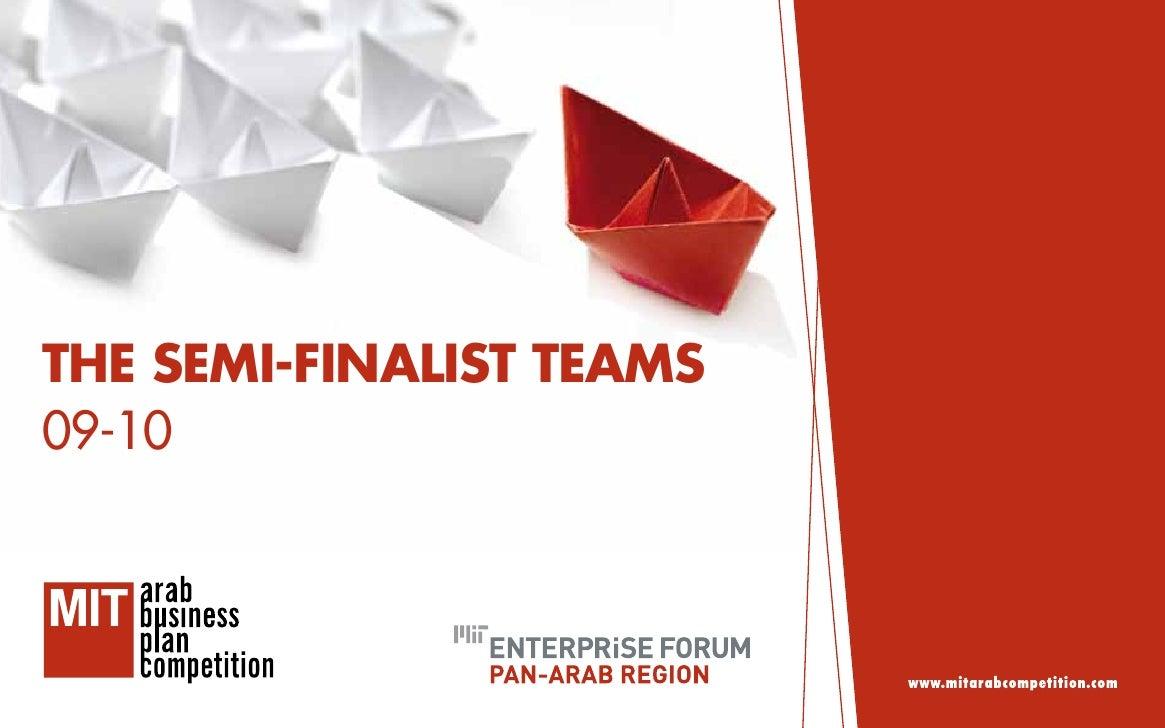 mit business plan competition arab world news
