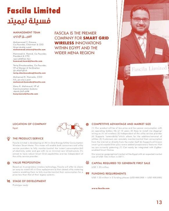 Fascila Limited فسيلة ليميتد  MANAGEMENT TEAM                              FASCILA IS THE PREMIER  الفريـــــق اإلداري...