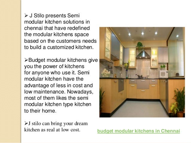 types of semi modular kitchens and budget modular kitchens in chennai