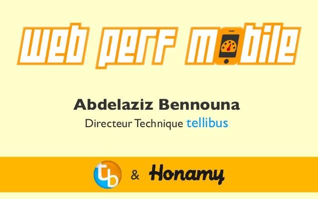 Abdelaziz Bennouna Directeur Technique tellibus         &