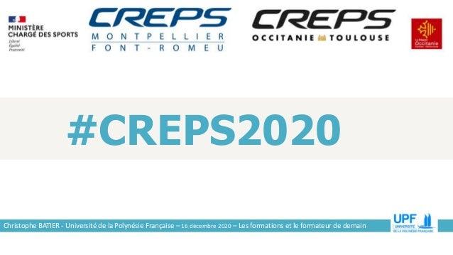 Seminaire CREPS Montpellier 16 decembre 2020 Slide 2