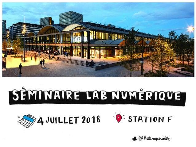Séminaire lab numerique