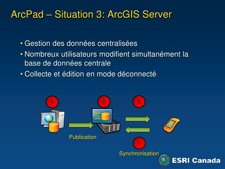 """ArcMap  - Barre d'outils GPS<br />Localisation courante à l'écran<br />Numérisation à partir de la position GPS<br />""""Snap..."""
