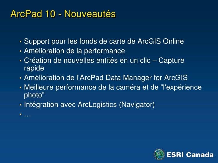 ArcGIS Engine – Description<br />Environnements de développement : .NET, Java et C++<br />Visual Studio et Java<br />Trous...