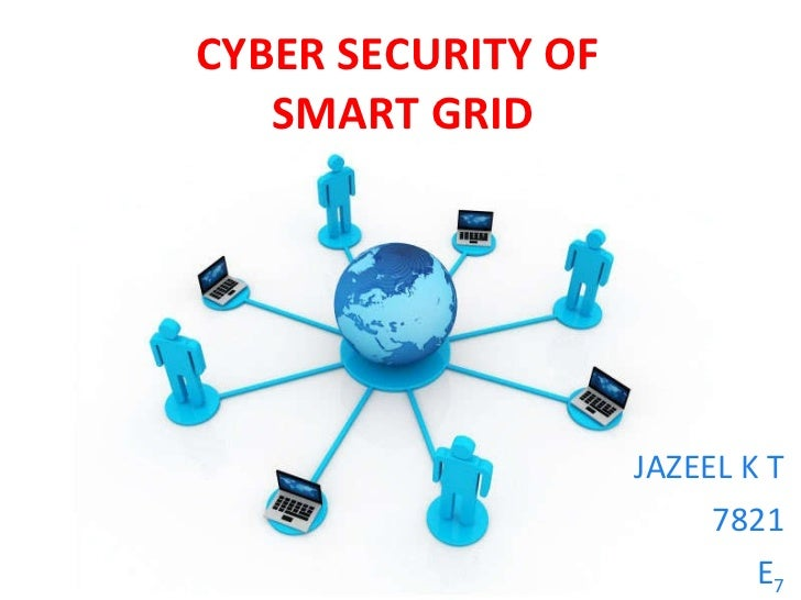 Smart grid cyber security toneelgroepblik