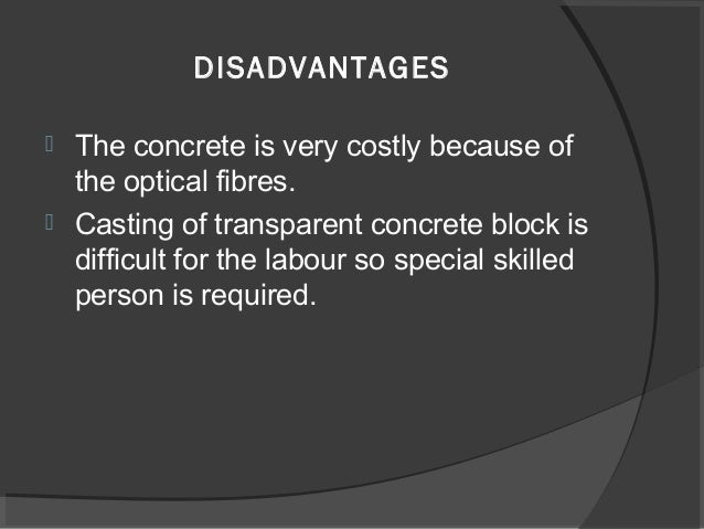 concrete advantages and disadvantages Cast-in-situ piles: advantages and disadvantages tweetear cast-in-situ piles are concrete piles these piles are distinguished from drilled piers as small.