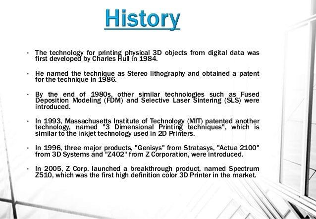 3d print a short introduction.