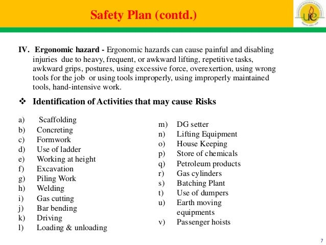 construction site safety and management – Job Site Safety Plan