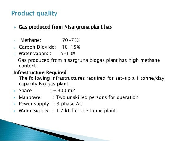 Biogas-energy of the future