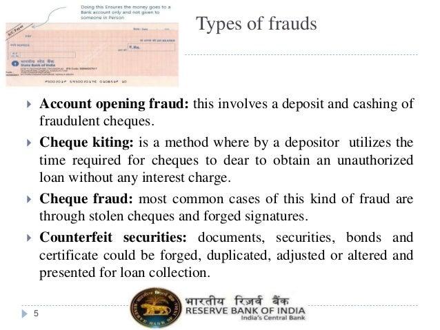 types of e-banking frauds